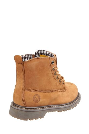 Amblers Safety Tobacco FS103 Goodyear Welted Lace-Up Ladies Safety Boots