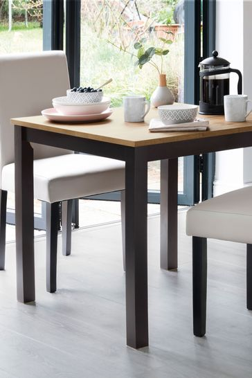 Bronx 4 Seater Square Dining Table
