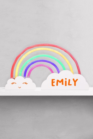 Personalised Rainbow Light