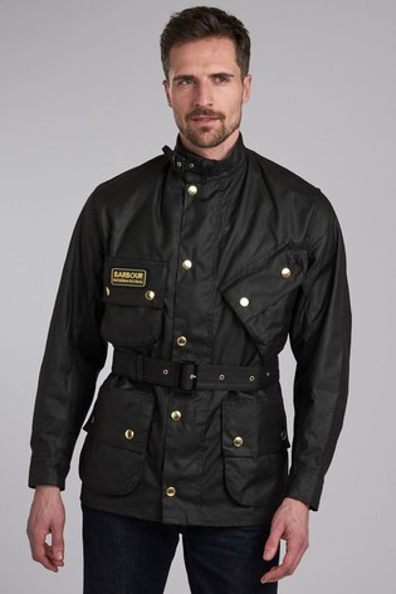 Barbour® International Black Original Jacket