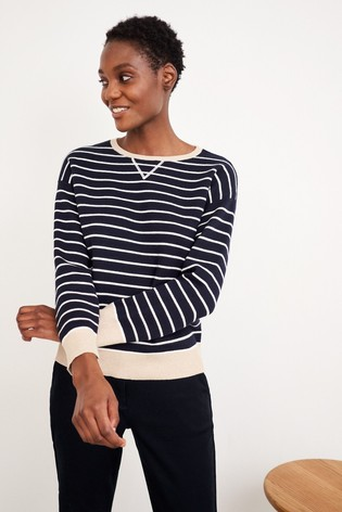 White Stuff White Reversible Sweater