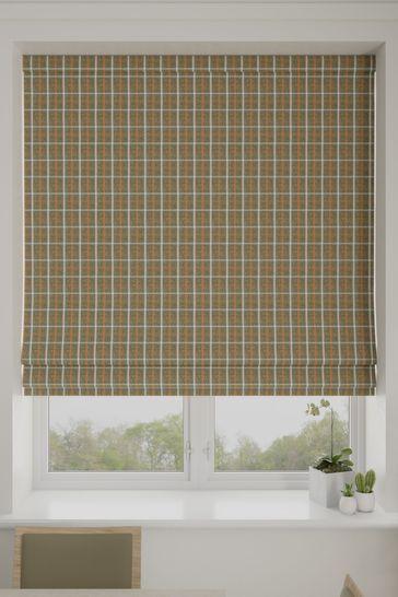 Malvern Seagreen Made To Measure Roman Blind