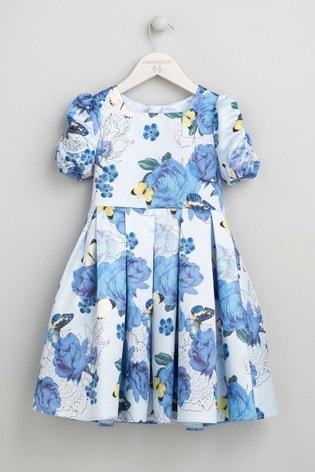 Angel & Rocket Blue Floral Dress