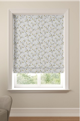 Neisha Mimosa Yellow Made to Measure Roman Blind