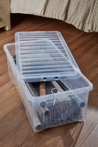 Set of 2 Crystal 62L Boxes by Wham