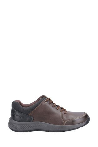 Cotswold Brown Rollright Lace-Up Casual Shoes