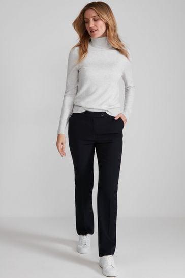 M&Co Blue Classic Slim Trousers