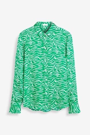 Mix/Primrose Park Zebra Print Shirt