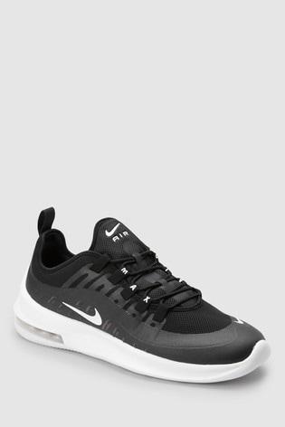 black air max axis trainers