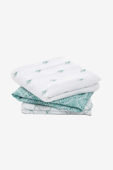 aden + anais White Musy Squares Three Pack