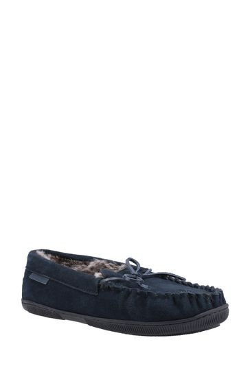 Hush Puppies Blue Ace Slippers
