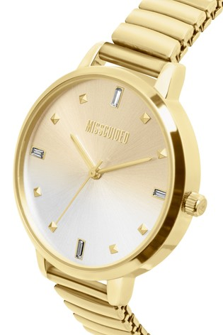 Missguided Sunray Dial Expander Watch