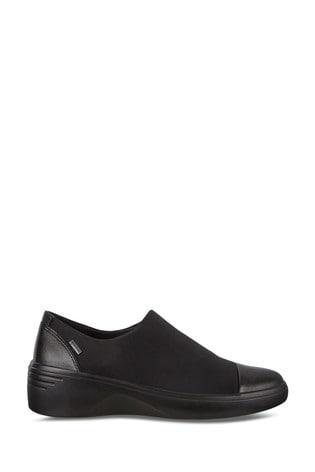 ECCO® Soft 7 Wedge W Stretch Gore-Tex Slip On Shoes