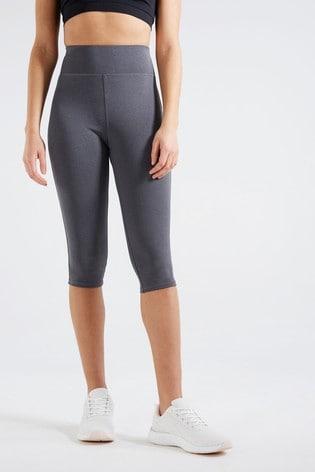 F&F Grey Cropped Leggings