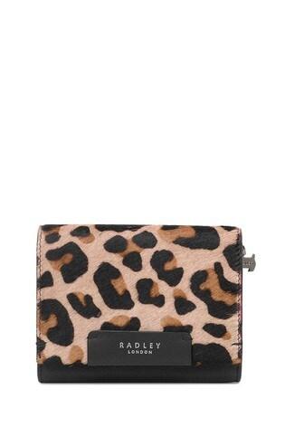 Radley London Arlington Court Faux Leopard Medium Flapover Purse