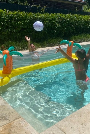 Sunnylife Tropical Island Inflatable Volleyball Set 6 Years+ 70cm x 300cm