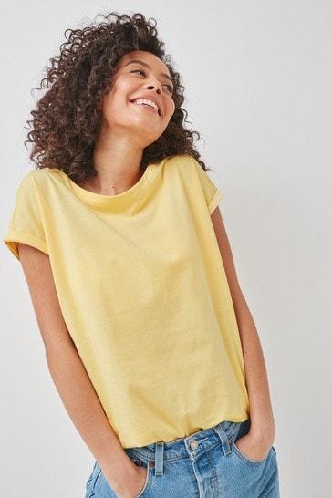 Lemon Cap Sleeve T-Shirt