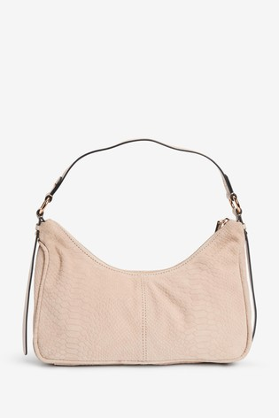 Bone Leather 90's Style Shoulder Bag