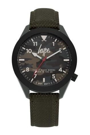 Hype. Grey Camo Watch