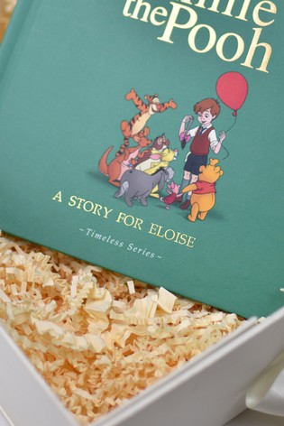 Personalised Disney™ Winnie The Pooh Book And Plush Toy Gift Set by Signature Book Publishing