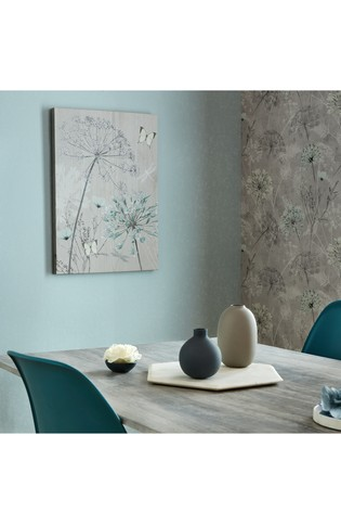 Harmony Blooms Canvas by Art For The Home