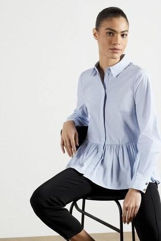 Ted Baker Ollwen Stripe Cotton Shirt