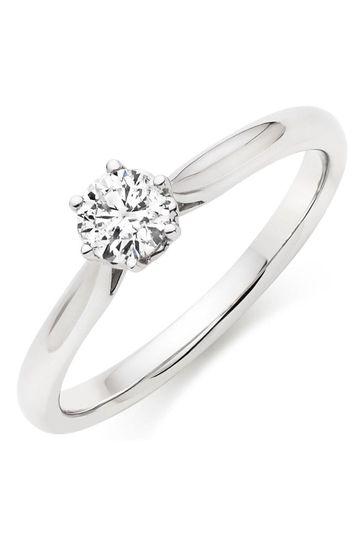 Beaverbrooks 9ct Diamond Ring
