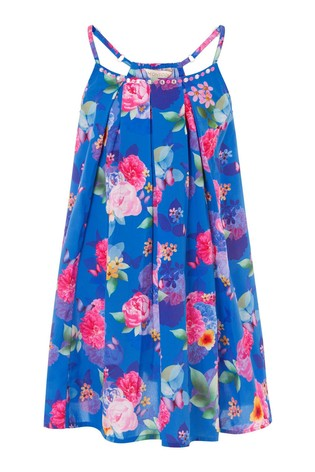 Monsoon Whitney Floral Print Dress