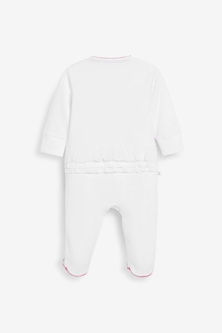 Baker by Ted Baker Baby Girls Placement Print Sleepsuit