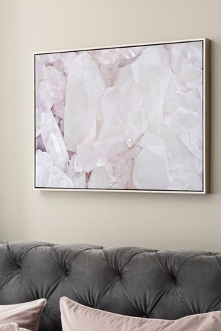 Iridescent Gemstone Canvas