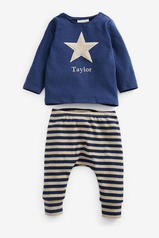 Personalised T-Shirt & Leggings Set