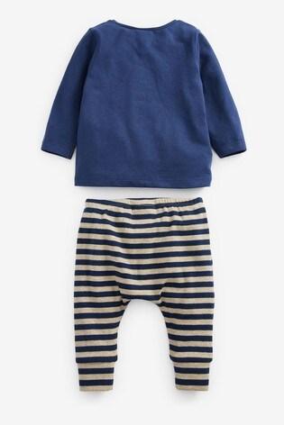 Blue Personalised T-Shirt & Leggings Set