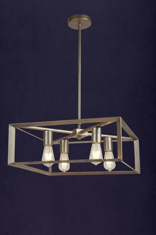 Harbor 4 Light Pendant by Searchlight