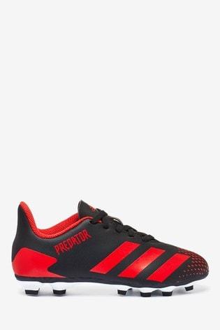 adidas Black Mutator P4 Predator FG Junior & Youth Football Boots