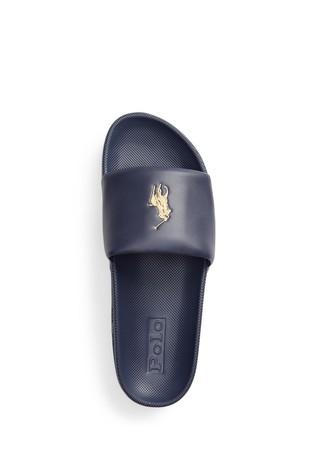 Polo Ralph Lauren Contrast Logo Cayson Sliders