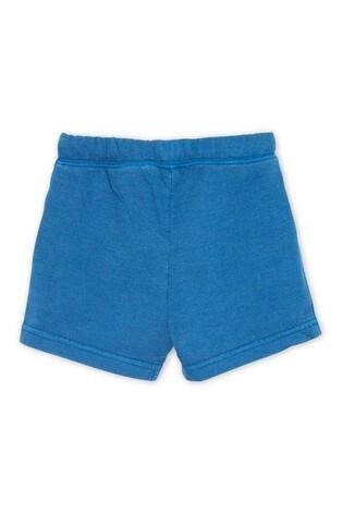 Hatley Moroccan Blue Baby Cotton Blend Shorts