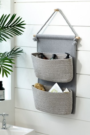Woven Hanging Storage Baskets