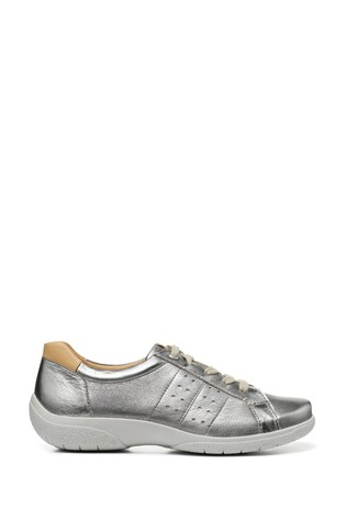 Hotter Fearne II Wide Fit Lace-Up Flat Shoes