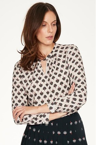 Thought Grey Salvo Blouse
