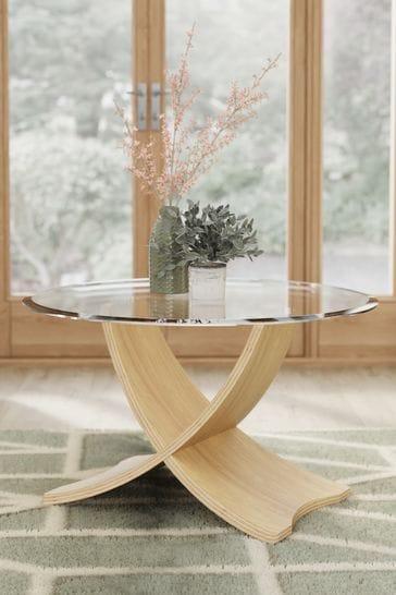 Siena Oak Coffee Table By Jual