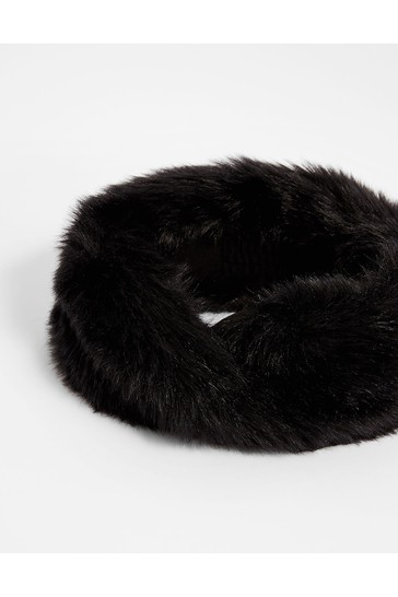 Accessorize Faux Fur Bando Hat