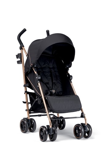 Mamas & Papas Tour3 Black And Rose Gold Buggy