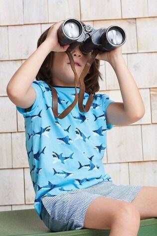 Hatley Shark Frenzy Graphic T-Shirt