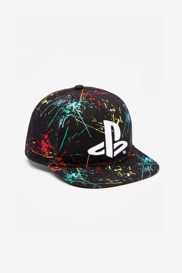 Black PlayStation™ Cap (3-16yrs)