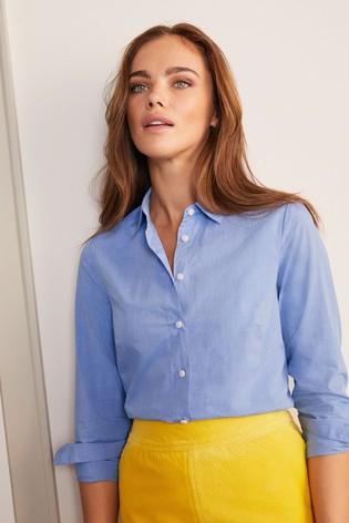 Boden Blue Modern Classic Shirt