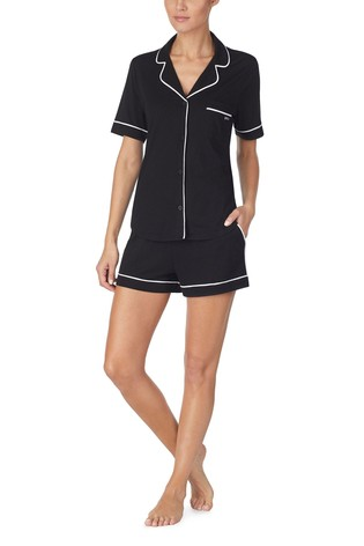 DKNY Signature Shorty Notch Collar Pyjama Set