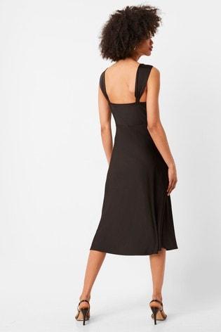 French Connection Ilumina Satin Slip Dress