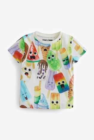 Ice Lolly All Over Printed T-Shirt (3mths-7yrs)