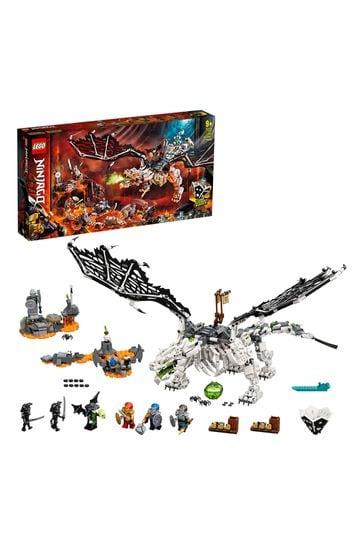 LEGO 71721 NINJAGO Skull Sorcerer's Dragon Board Game Set