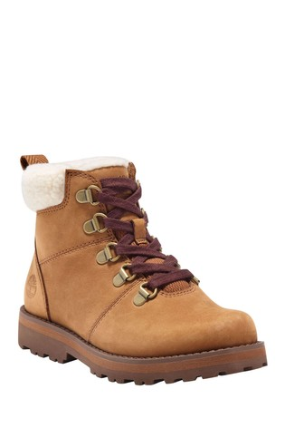 Timberland® Courma Kid Warm Lined Leather Hiker Boots